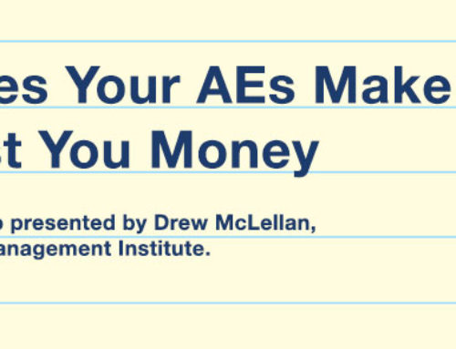 3 mistakes your AEs make that cost you money