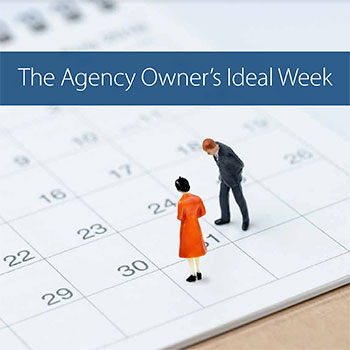 The Agency Owners Ideal Week Ebook Cover
