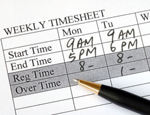 Timesheets are not optional